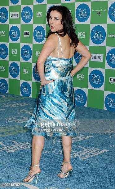 Jennifer Tilly during The 20th Annual IFP Independent Spirit Awards Arrivals in Santa Monica California United States
