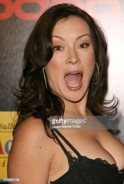 Jennifer Tilly during The 3rd Annual Lakers Casino Night - Arrivals at Barker Hangar in Santa Monica, California, United States.