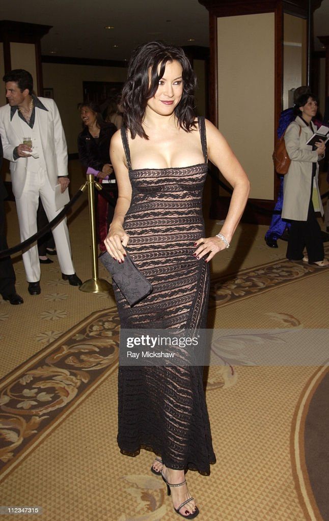 Jennifer Tilly during The 9th Annual Race to Erase MS Co-Chaired by Nancy Davis & Tommy Hilfiger - Fashion Show at The Century Plaza Hotel in Century City, California, United States.