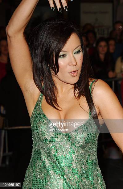 Jennifer Tilly during The Haunted Mansion Los Angeles Premiere at The El Capitan Theatre in Hollywood California United States