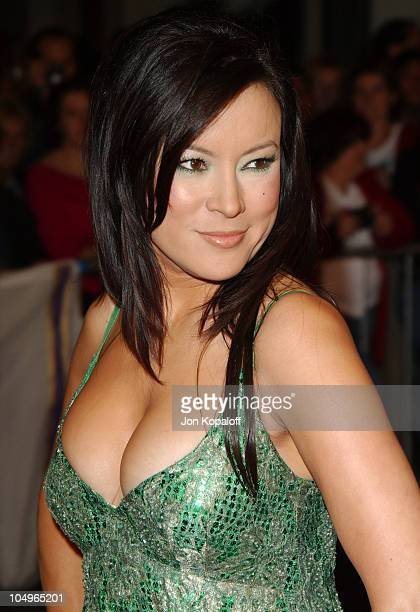 Jennifer Tilly during 'The Haunted Mansion' Los Angeles Premiere at The El Capitan Theatre in Hollywood California United States