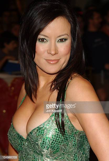 "Jennifer Tilly during ""The Haunted Mansion"" - Los Angeles Premiere at The El Capitan Theatre in Hollywood, California, United States."