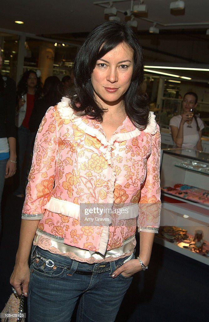 Jennifer Tilly during Vogue and Samsung Present the Anna Sui Mobile at Fred Segal Store in Santa Monica, California, United States.