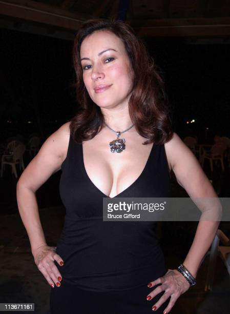 Jennifer Tilly during WPT Boot Camp Battle for the Season Pass at Cable Beach Resort Crystal Palace Casino in Nassau Bahamas