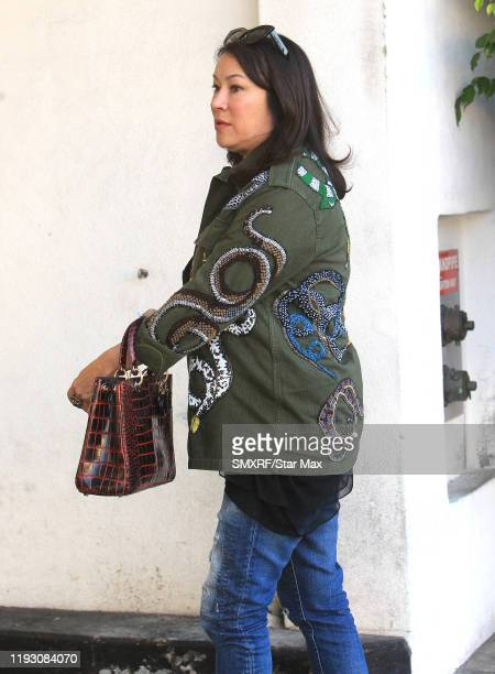 Jennifer Tilly is seen on January 10 2020 in Los Angeles California