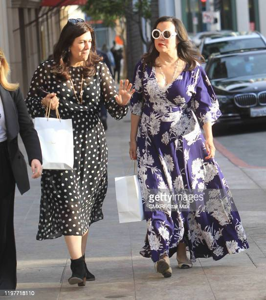 Jennifer Tilly is seen on January 30 2020 in Los Angeles California