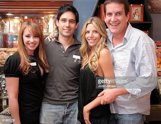Jennifer Tisdale David Rogers Andrea Bogart and Chris Williams
