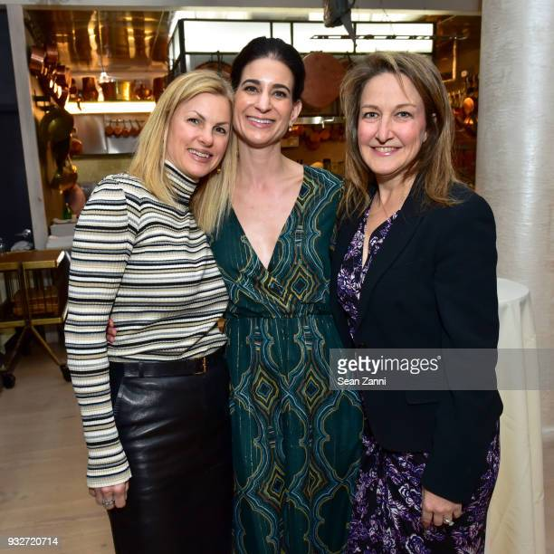Jennifer Tunney Michelle Babu and Jennifer James attend 'The Initiation' Book Launch at Bouley TK on March 15 2018 in New York City