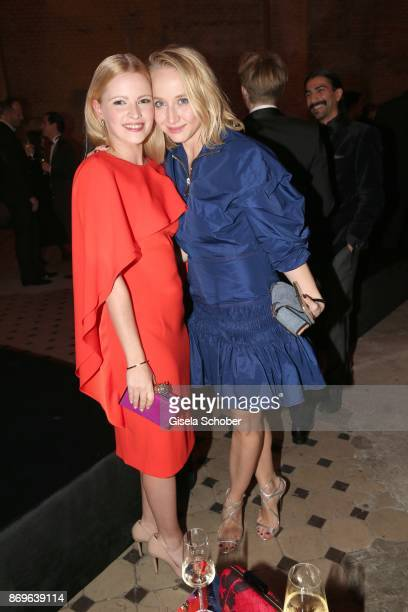 Jennifer Ulrich and Anna Maria Muehe during the 'When the Ordinary becomes Precious #CartierParty Berlin' at Old Power Station on November 2 2017 in...