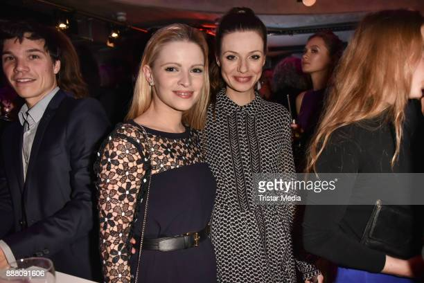 Jennifer Ulrich and Julia Hartmann during the Medienboard PreChristmas Party at Schwuz at Saeaelchen on December 7 2017 in Berlin Germany