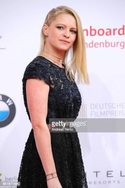 Jennifer Ulrich attends the Lola German Film Award red carpet at Messe Berlin on April 27 2018 in Berlin Germany