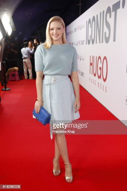 Jennifer Ulrich attends the Young ICONs Award in cooperation with ICONIST at SpindlerKlatt on February 14 2018 in Berlin Germany