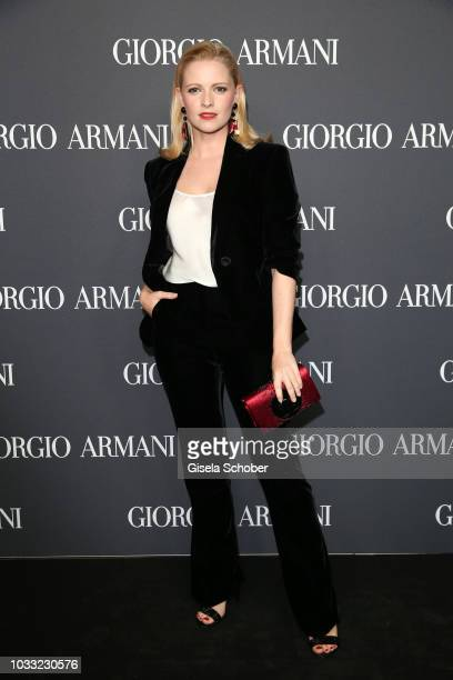 Jennifer Ulrich during the Boutique Trunk Show Giorgio's after party at Parkcafe on September 13 2018 in Munich Germany