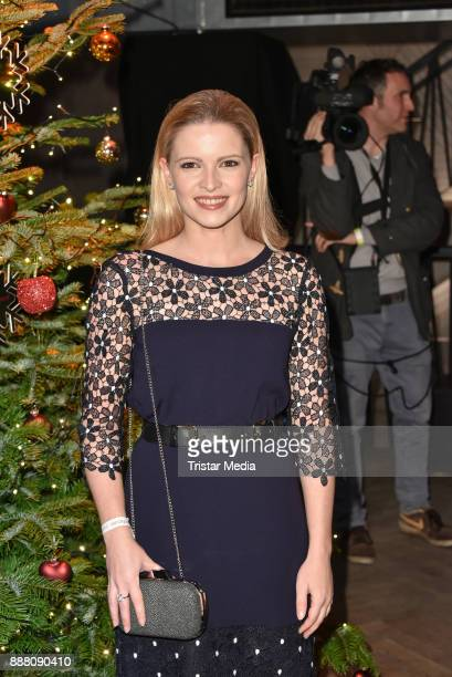 Jennifer Ulrich during the Medienboard PreChristmas Party at Schwuz at Saeaelchen on December 7 2017 in Berlin Germany