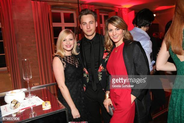 Jennifer Ulrich Timmi Trinks and Luise Baehr during the New Faces Award Style 2017 at 'The Grand' hotel on November 15 2017 in Berlin Germany