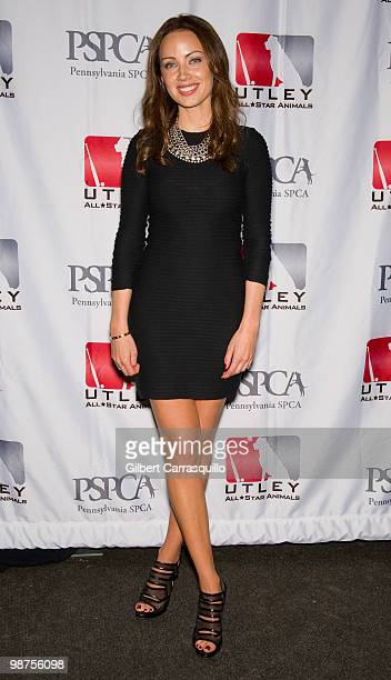 Jennifer Utley attends the 3rd Annual Utley AllStars Animal Casino Night to benefit the Pennsylvania SPCA at The Electric Factory on April 29 2010 in...
