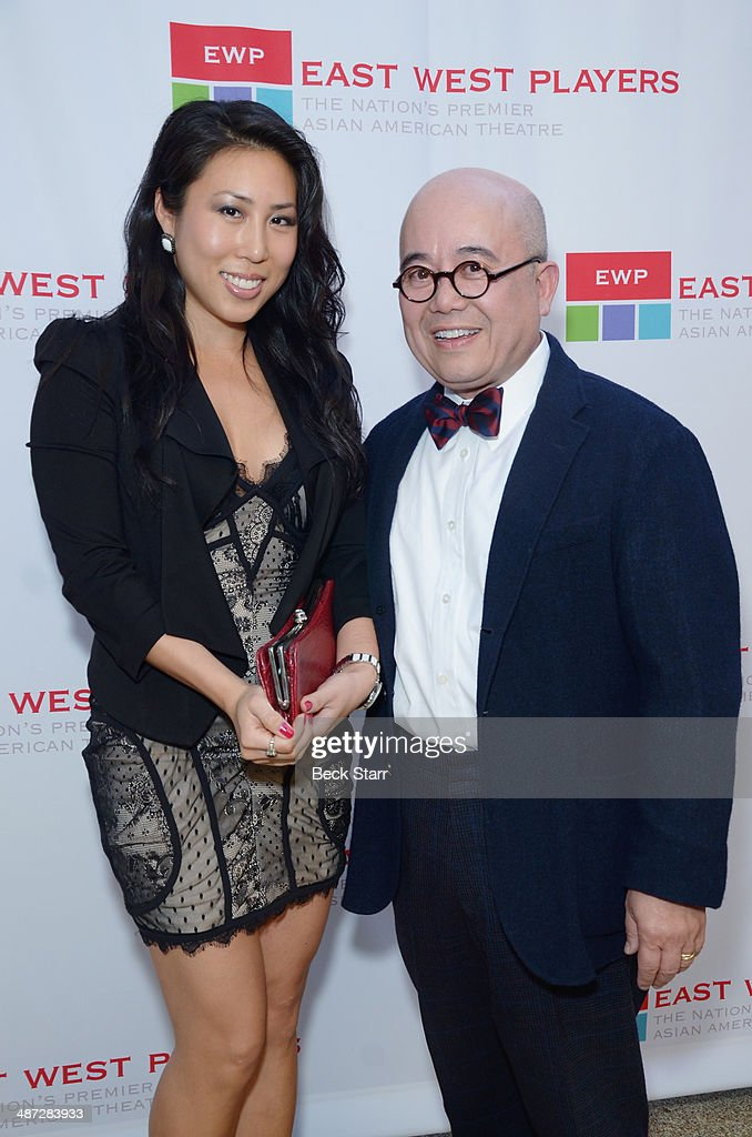 Jennifer uw and Fritz Freeman arrive at Making Light East West Players 48th Anniversary Visionary Awards at Hilton Universal City on April 28, 2014 in Universal City, California.