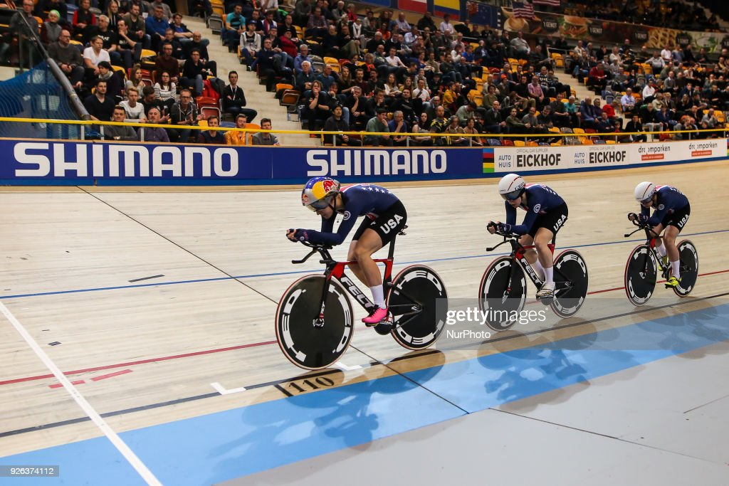 Track cycling world championships Apeldoorn 2018 day 2 and 3