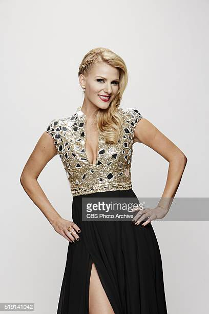 Jennifer Wayne stops by the CBS Photo Booth during the 51st ACADEMY OF COUNTRY MUSIC AWARDS cohosted by Luke Bryan and Dierks Bentley from the MGM...