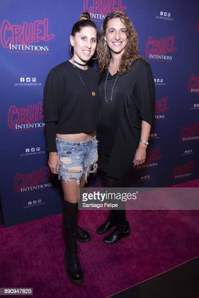 Jennifer Weber and Eva Price attend 'Cruel Intentions' The 90's Musical Experience at Le Poisson Rouge on December 11 2017 in New York City