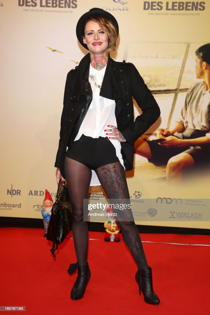 Jennifer Weisst attends 'Quelle des Lebens' Germany Premiere at Delphi Filmpalast on February 5, 2013 in Berlin, Germany.