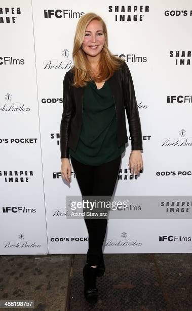 Jennifer Westfeldt attends 'God's Pocket' screening at IFC Center on May 4 2014 in New York City