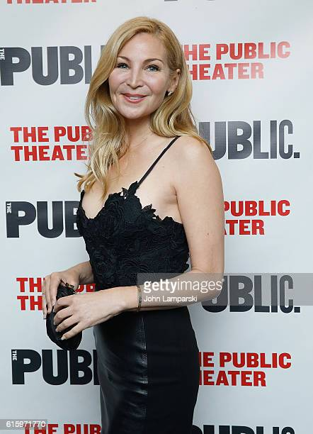 Jennifer Westfeldt attends 'Plenty' opening night celebration at The Public Theater on October 20 2016 in New York City