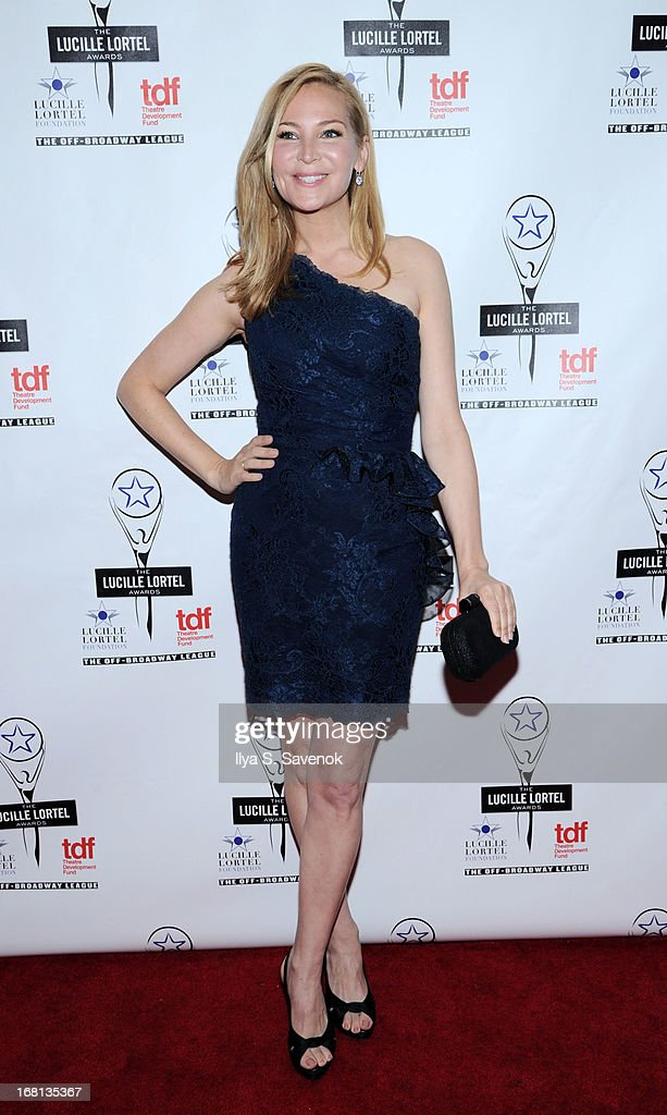 Jennifer Westfeldt attends the 28th Annual Lucille Lortel Awards at NYU Skirball Center on May 5, 2013 in New York City.