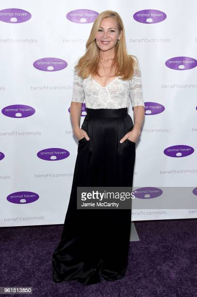 Jennifer Westfeldt attends the Animal Haven Gala 2018 at Tribeca 360 on May 22 2018 in New York City