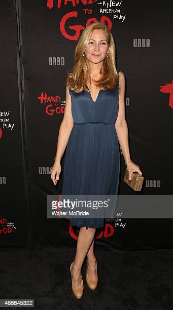 Jennifer Westfeldt attends the Broadway Opening Night performance of 'Hand To God' at The Booth Theatre on April 7 2015 in New York City