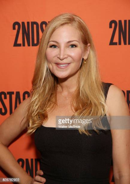 Jennifer Westfeldt attends the Opening Night performance of 'A Parallelogram' at The Second Stage Theatre on August 2 2017 in New York City