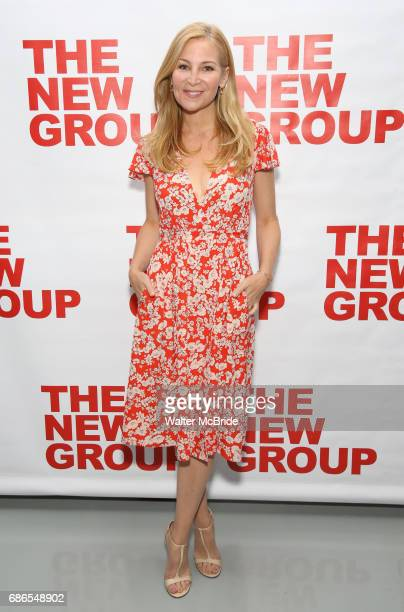 Jennifer Westfeldt attends the The New Group World Premiere of Hamish Linklater's 'The Whirligig' at Green Fig's Social Drink and Food Club Terrace...