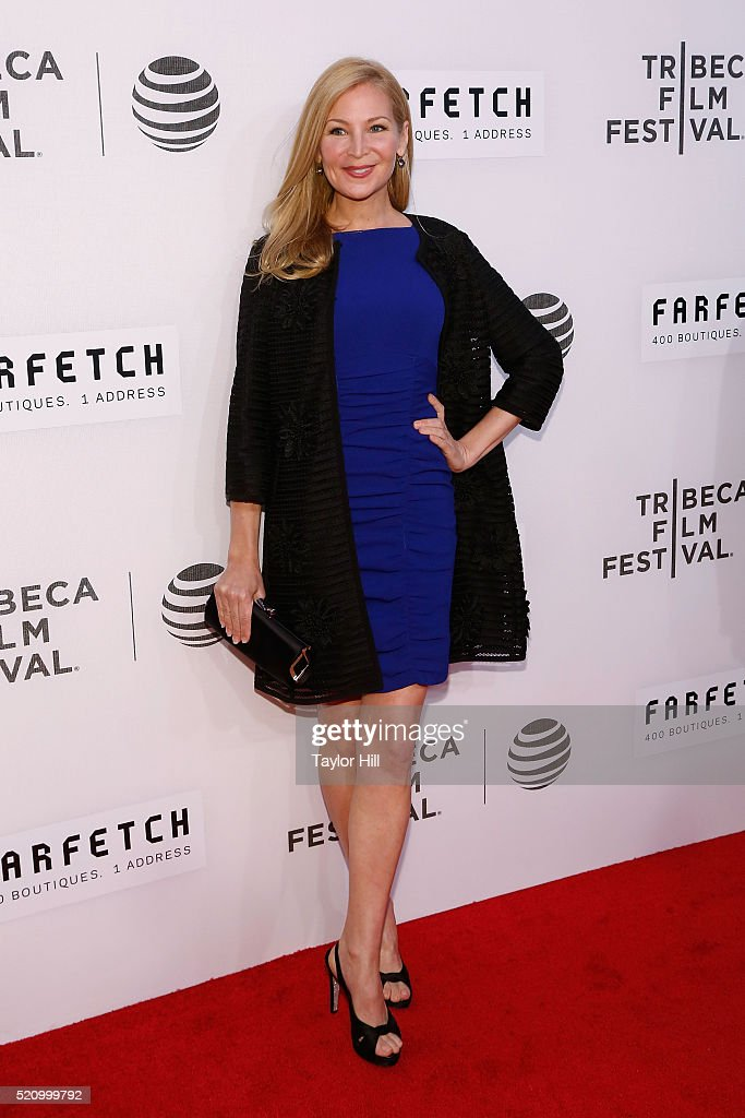 Jennifer Westfeldt attends the world premiere of 'First Monday in May' during the 2016 Tribeca Film Festival at John Zuccotti Theater at BMCC Tribeca Performing Arts Center on April 13, 2016 in New York City.