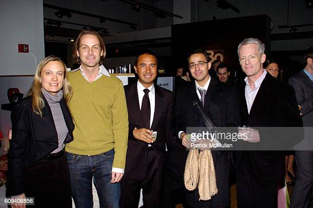 Jennifer Wetherbee Andrew Brunger Charles Duque Tobia Caceres and Michael Rawson attend KolDesign/BoConcept 5th Annual Holiday Party at BoConcept on...