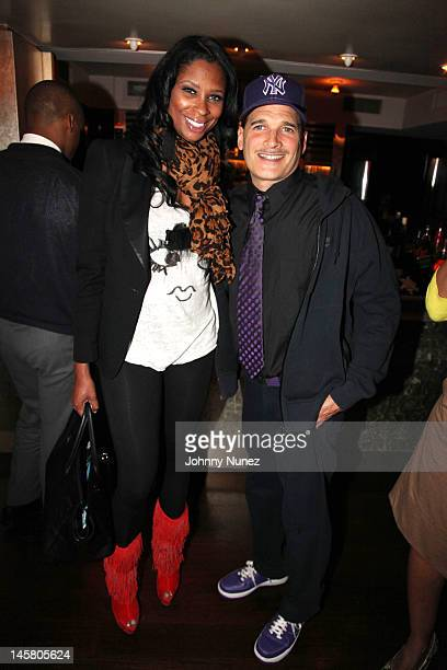 Jennifer Williams and Phillip Bloch attend a private dinner at Mr Chow on June 5 2012 in New York City
