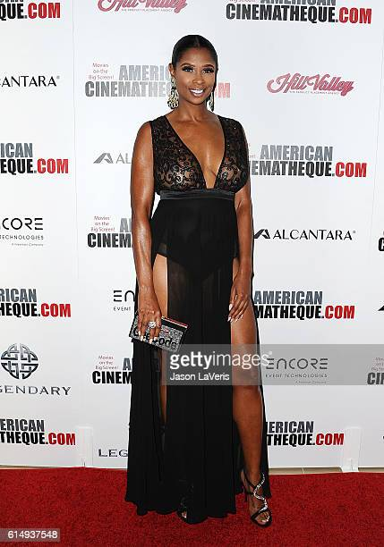 Jennifer Williams attends the 30th annual American Cinematheque Awards gala at The Beverly Hilton Hotel on October 14 2016 in Beverly Hills California