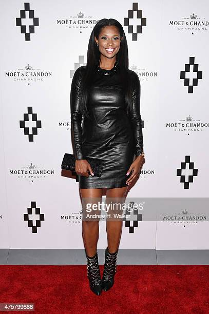 Jennifer Williams attends the Moet Nectar Imperial Rose x Marcelo Burlon Launch Event on June 3 2015 in New York City