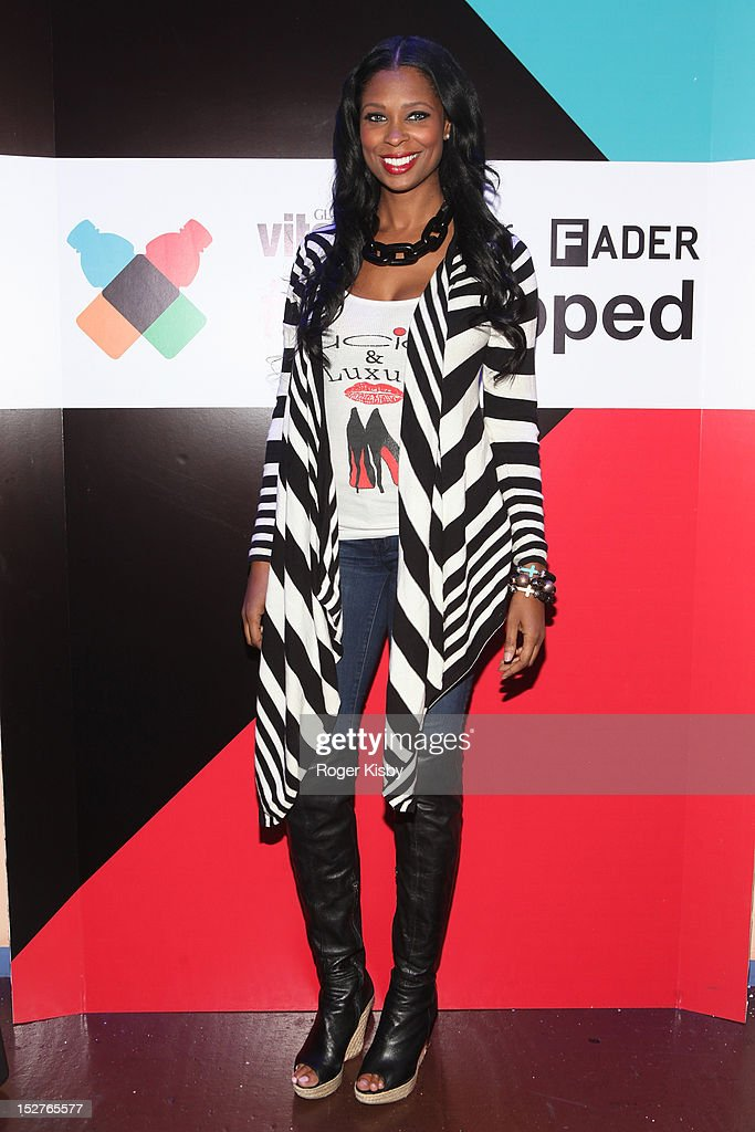Jennifer Williams attends vitaminwater Fader uncapped at the The Angel Orensanz Foundation on September 24, 2012 in New York City.