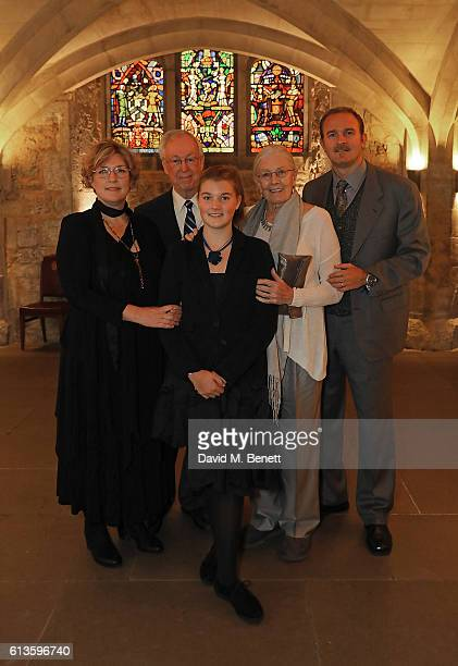 Jennifer Wiltsie John F Andrews Lilli Nero Vanessa Redgrave and Carlo Nero attend the UK Theatre Awards 2016 at The Guildhall on October 9 2016 in...