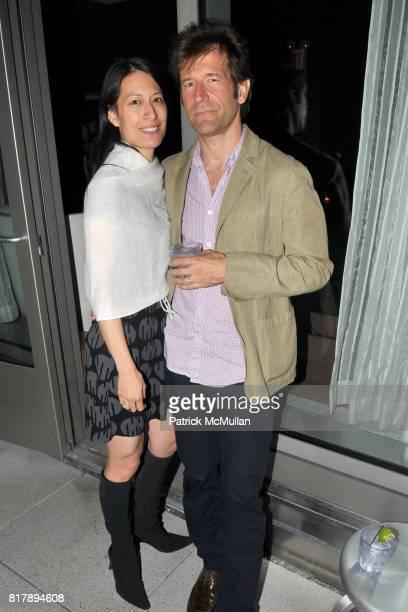 Jennifer Wu and Harry Zernike attend ASSOCIATION to BENEFIT CHILDREN Junior Committee Fundraiser at Gansevoort Hotel on September 14 2010 in New York...