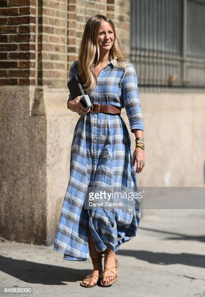 Jennifery Neyt is seen outside the Zadig and Voltaire show during New York Fashion Week Women's S/S 2018 on September 11 2017 in New York City