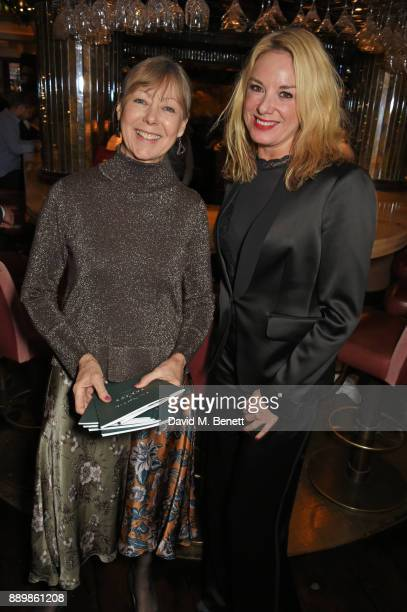 Jenny Agutter and Tamzin Outhwaite attend 'One Night Only At The Ivy' in aid of Acting for Others on December 10 2017 in London England
