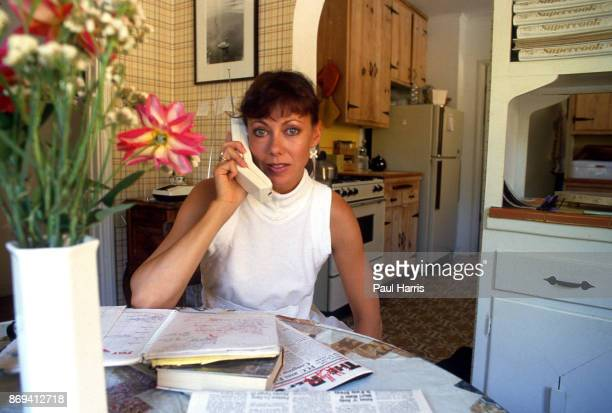 Jenny Agutter at her home in Hollywood close to the Hollywood signJennifer Ann 'Jenny' Agutter OBE is an English film and television actress she has...