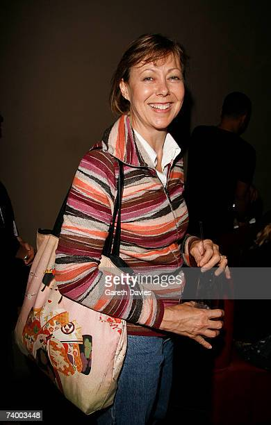 Jenny Agutter at the party of '28 Weeks Later' at MAddox Club on April 26 2007 in London England