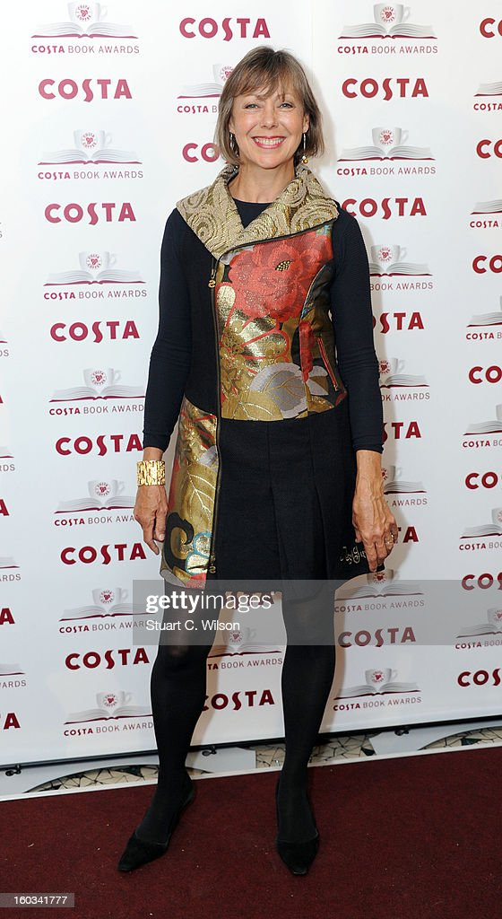 Jenny Agutter attends the Costa Book of the Year awards at Quaglino?s on January 29, 2013 in London, England.