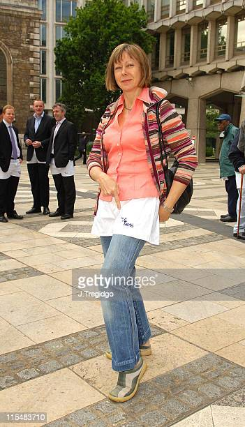 Jenny Agutter during Men In Pants Day to Raise Money and Awareness for The Orchid Cancer Appeal at Guildhall in London Great Britain