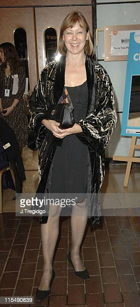 Jenny Agutter during The London Children's Film Festival 2005 Opening Gala Screening of Chicken Little at Barbican in London Great Britain