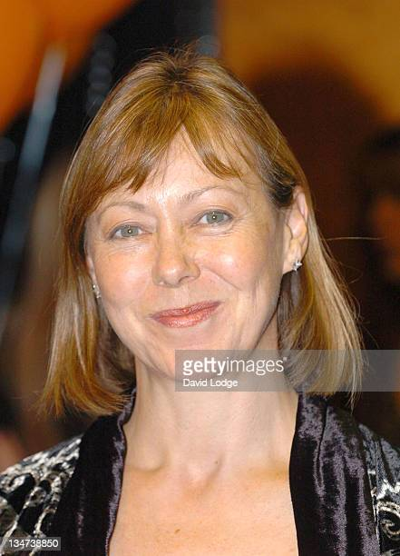 Jenny Agutter during The London Children's Film Festival 2005 Opening Gala Screening of Chicken Little at Barbican Cinema in London Great Britain