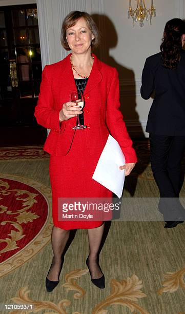 Jenny Agutter during The Spring Ladies Lunch 2007 at Mandarin Oriental in London Great Britain