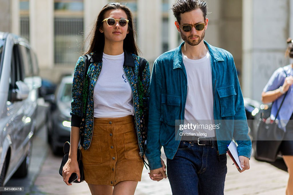 Street Style: June 19 - Milan Men's Fashion Week Spring/Summer 2017 : News Photo